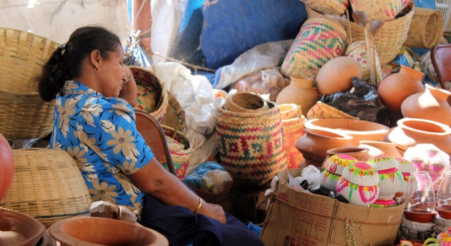 Domnic Fernandes on Mapusa Market